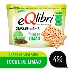 Biscoito Cracker Sabor Toque de Limão Eqlibri 45g
