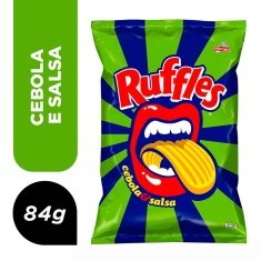 Salgadinho Ruffles Cebola & Salsa Elma Chips 84g