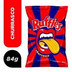 Salgadinho Ruffles Churrasco Elma Chips 84g