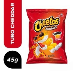 Salgadinho Tubo Queijo Cheddar Cheetos 45g