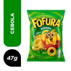 Salgadinho Fofura Jr Cebola 47g