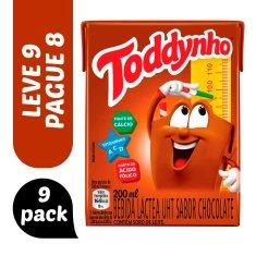 Achocolatado Toddynho 200ml Leve 9 Pague 8