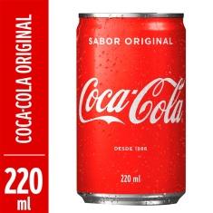 Refrigerante Coca-Cola 220ml