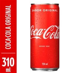 Refrigerante Coca-Cola Sleek 310ml