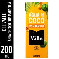 Água de Coco com Maracujá Del Valle 200ml