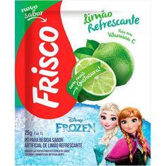 Refresco em Pó Sabor Limão Refrescante Frisco 25g