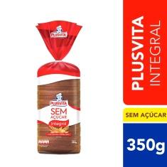 Pão de Forma Integral Zero Plusvita 350g