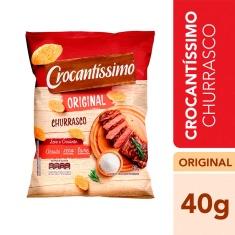 Salgadinho Sabor Churrasco Crocantíssimo Pullman 40g