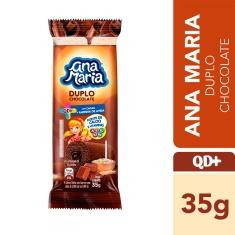 Bolinho Recheado Duplo Chocolate Ana Maria 35g