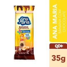 Bolinho Recheado Banana com Chocolate Ana Maria 35g