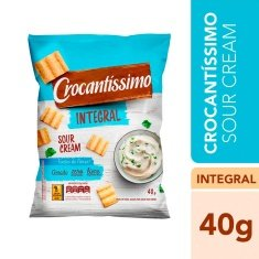 Snack Integral Sour Cream Crocantíssimo Pullman 40g