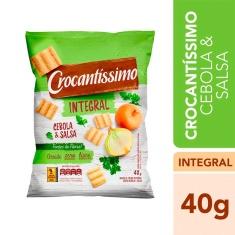 Snack Integral Cebola e Salsa Crocantíssimo Pullman 40g