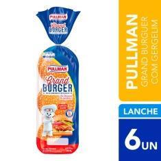 Pão de Hambúrguer com Gergelim Pullman 420g