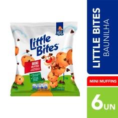 Mini Muffins de Baunilha com Gotas de Chocolate Little Bites 66g