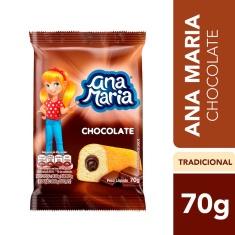 Bolinho Recheado Ana Maria Chocolate 70g