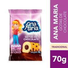 Bolinho Recheado Ana Maria Gotas De Chocolate 70g