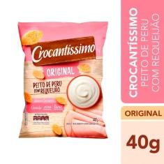 Salgadinho Sabor Peito de Peru com Requeijão Crocantíssimo Pullman 40g