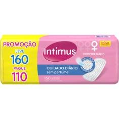 Protetor Diário Sem Perfume Intimus Days Leve 160 Pague 110 unidades