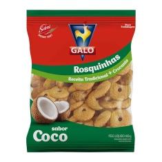 Biscoito Rosca Show Coco Galo 400g