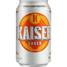 Cerveja Pilsen Lata 350ml Kaiser