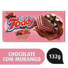 Biscoito Wafer de Chocolate com Morango Toddy 132g