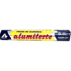 Folha de Alumínio Alumileste 30cmx7,5m