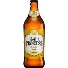 Cerveja Premium Gold Black Princess 600ml