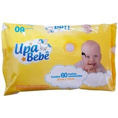 Lenço Umedecido Upa Bebê 60 Und