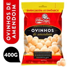 Ovinhos de Amendoim Elma Chips 400g