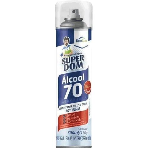 Álcool Spray 70% Super Dom 300ml