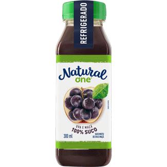 Suco de Uva & Maçã Refrigerado Natural One 300ml