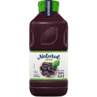 Suco de Uva & Maçã Refrigerado Natural One 1,5L