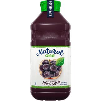 Suco de Uva e Maçã Refrigerado Natural One 2L