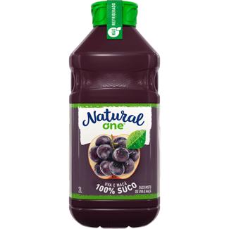 Suco de Uva e Maçã Natural One 2L