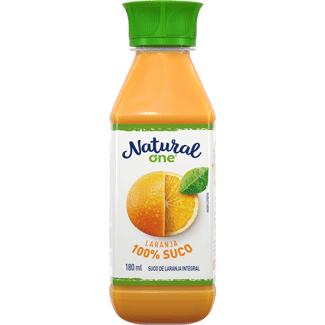Suco Integral Laranja Refrigerado Natural One 180ml