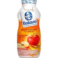 Bebida Láctea sabor Maçã Banana e Cereal Batavo 180g