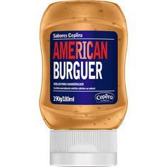 Molho para Hambúrguer American Burguer Cepêra 190g