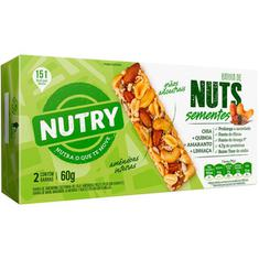 Barra de Cereal com Sementes Nutry Nuts 2x30g