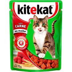 Alimento para Gatos Sabor Carne Kitekat 70g