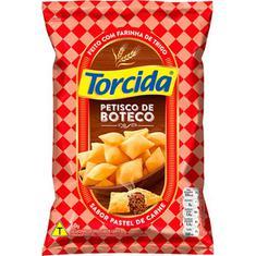 Salgadinho Petisco de Boteco sabor Pastel de Carne Torcida 60g