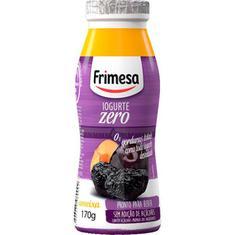 Iogurte Zero Sabor Ameixa Frimesa 170g