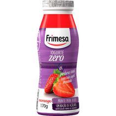 Iogurte Zero Sabor Morango Frimesa 170g