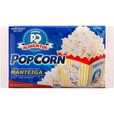 Milho de Pipoca para Micro-ondas Popcorn sabor Manteiga PQ 100g