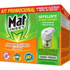 Inseticida Elétrico Aparelho Mat Inset 60 noites Promocional