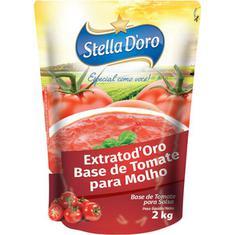 Base de Tomate para Molho Extratod'Oro Stella D'Oro 2kg
