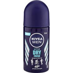 Desodorante Antitranspirante Roll-On Nivea Active Dry Fresh 50ml