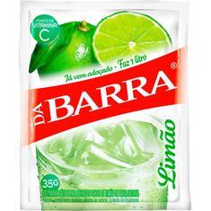Refresco em Pó Sabor Limão Da Barra 35g