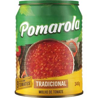 Molho de Tomate Tradicional Refogado Pomarola 340g