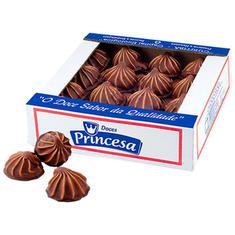Doce Choco Mole ao Leite Princesa 1,01kg 50un.