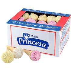 Doce Sorvete Seco Princesa 1,1kg 50un.